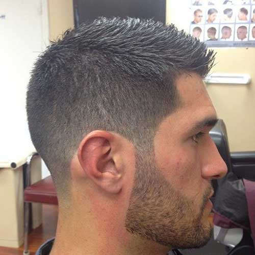 Mens Clipper Cut Short Hairstyles