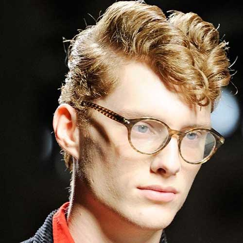 Mens Curly Rockabilly Hairstyles
