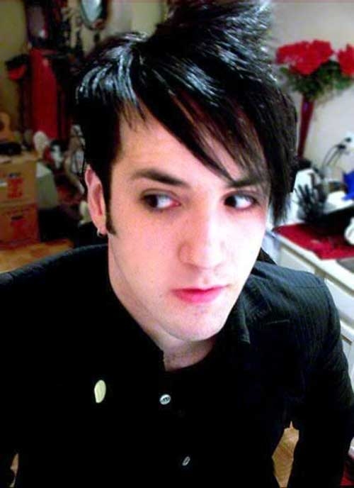 Mens Emo Straight Hairstyles