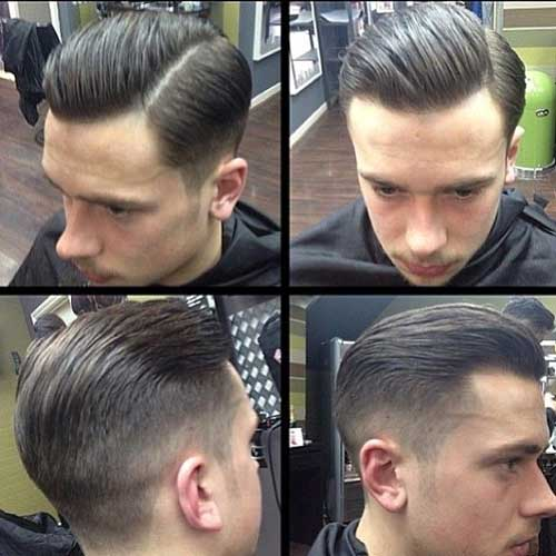Mens Fade Hairstyles Side View
