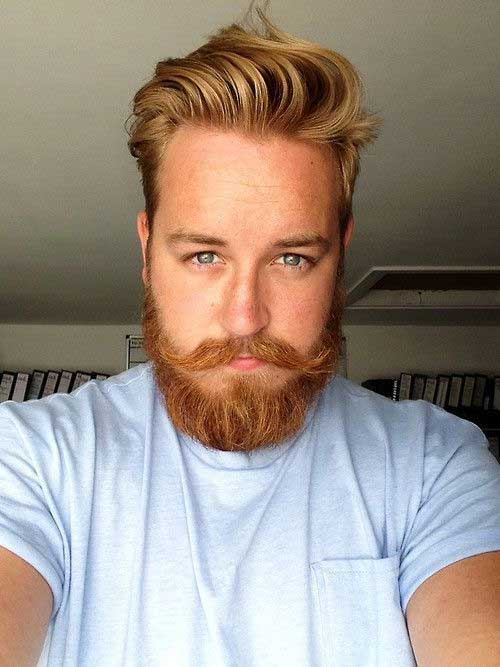 Mens Ginger Haircut Style 2015
