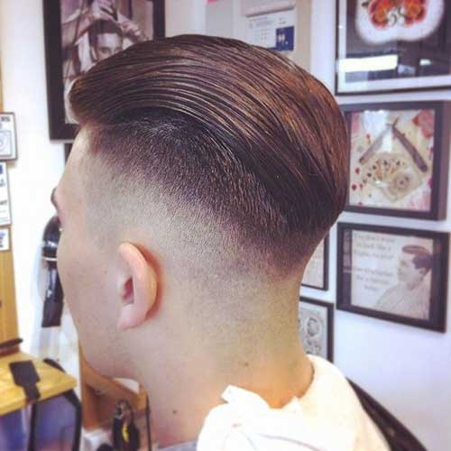 Mens Hairstyles Short Back And Sides Mens Hairstyles - Undercut hairstyle rear