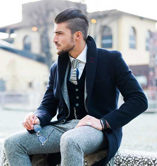Trendy Mens Hair Short On Sides Long On Top