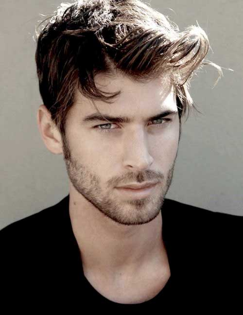 Mens Hair Short Sides Long Top The Best Mens Hairstyles Haircuts