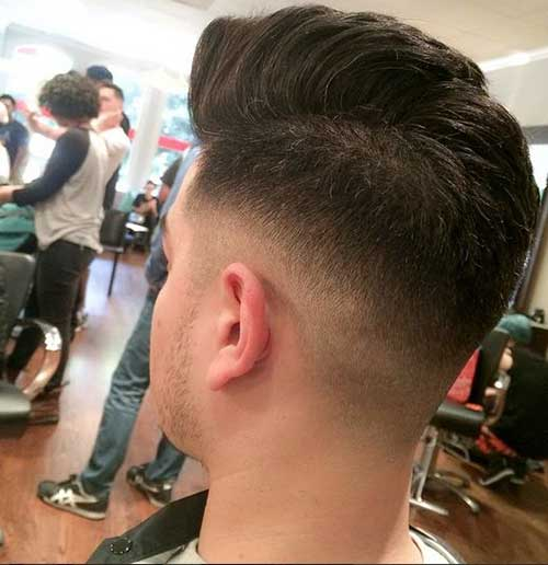 Mens Hair with Fade Style