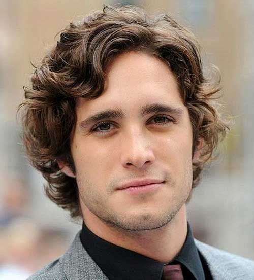 Mens Haircut Curly Styles Idea 2015