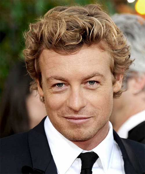 Mens Hairstyles for Thick Wavy Blonde Hair