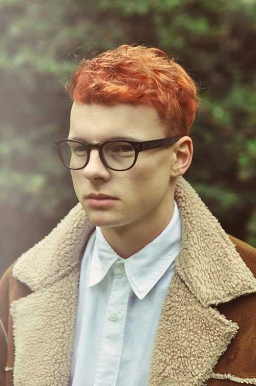 Mens Indie Ginger Hairstyles