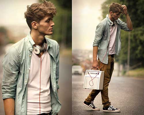 Indie Hairstyles For Guys