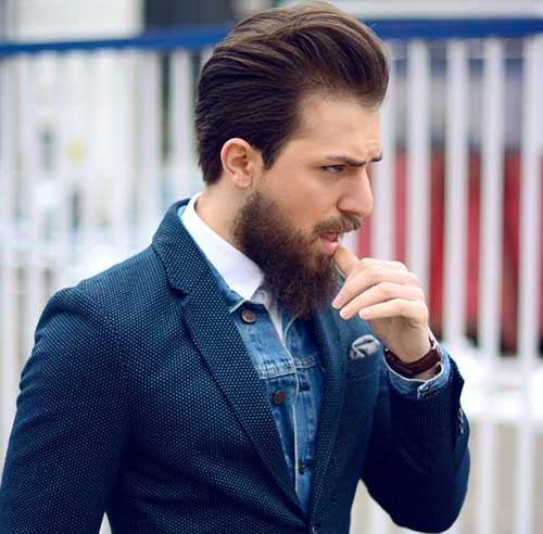 Mens Layered Classy Hairstyles
