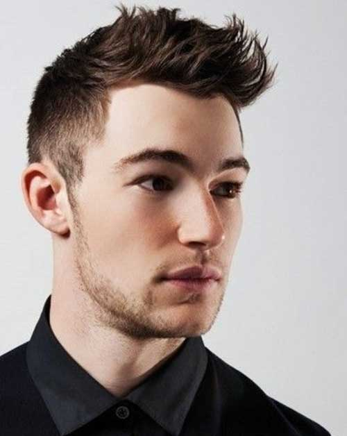 Mens Layered Faded Hairstyles