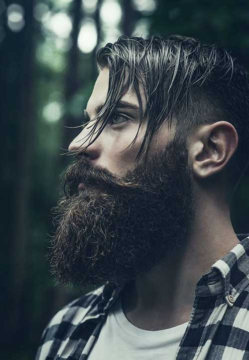 Mens Layered Inverted Hairstyles