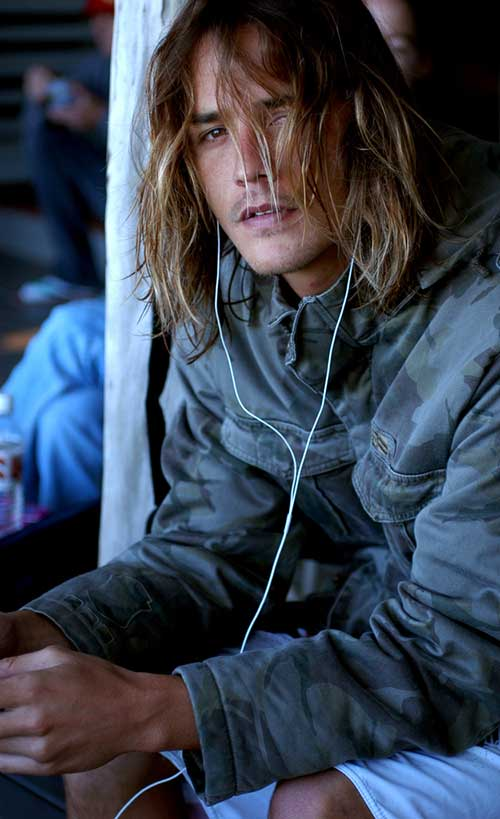 Mens Layered Long Hairstyles
