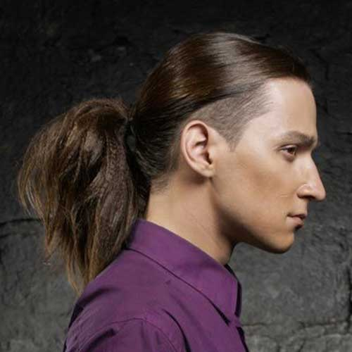 Mens Long Hairstyles for Thick Straight Hair Ideas