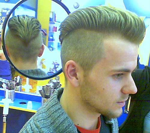 Mens Mohawk Hair Idea Short Back And Sides