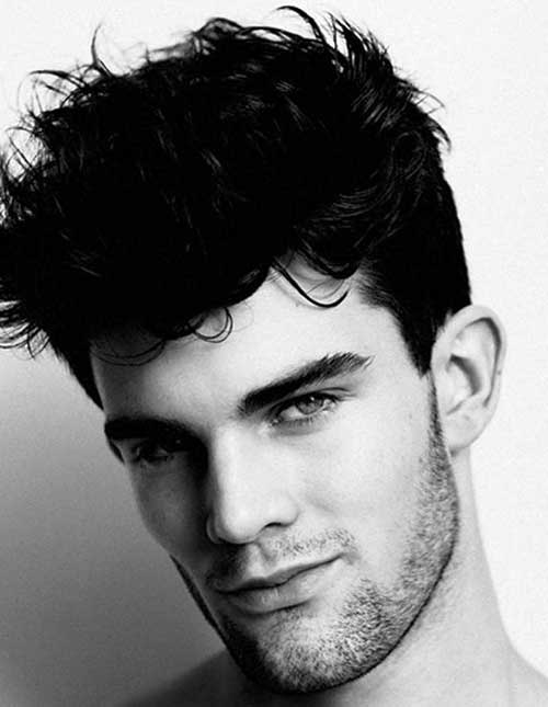 Mens Popular Dark Hairstyles