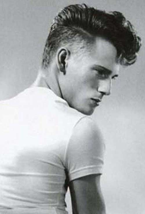 Mens Rockabilly Hairstyles Back View