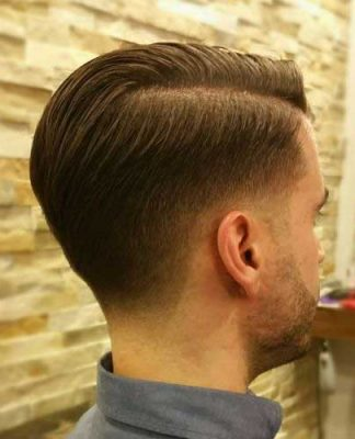 Mens Shaved Side Classic Hairstyles
