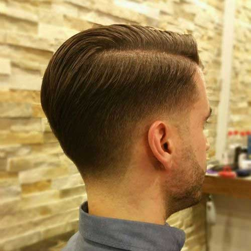 short back long front hairstyles : Shaved Side Hairstyles Men Mens Hairstyles 2016