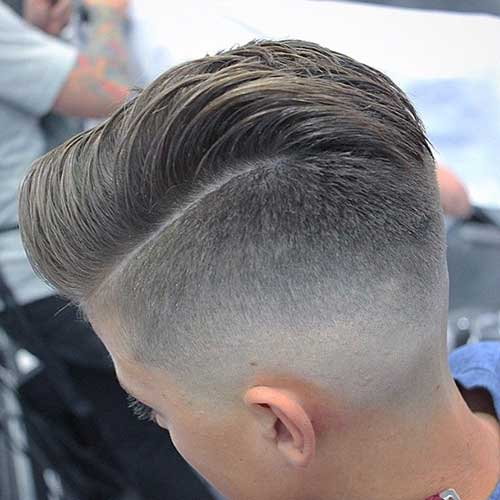 Mens Short Faded Haircuts Ideas