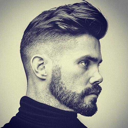 Mens Side Shaved Haircuts Ideas 2015