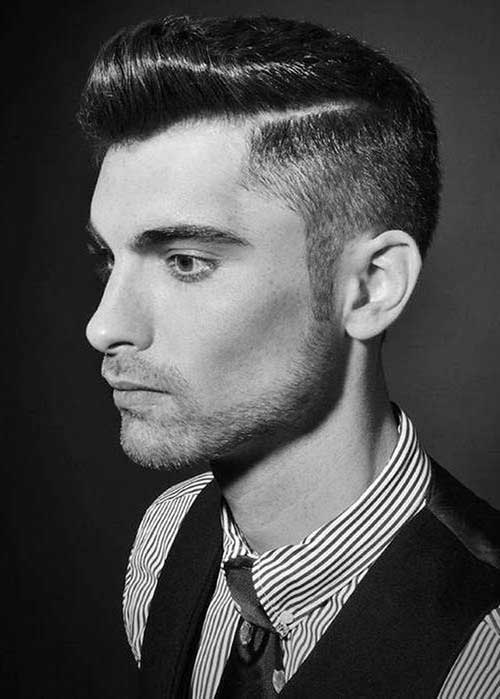 Mens Side Swept Rockabilly Hairstyles