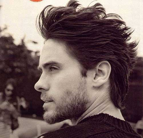 Mens Spiky Hair Cut Styles 2015