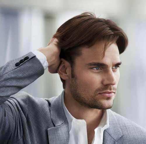Medium Length Mid Length Haircuts For Men 95