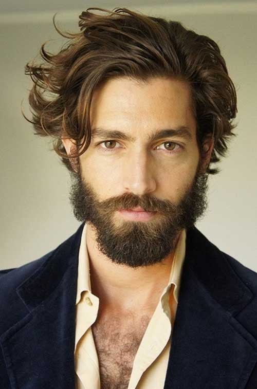 Trendy Mid Long Hairstyles Men