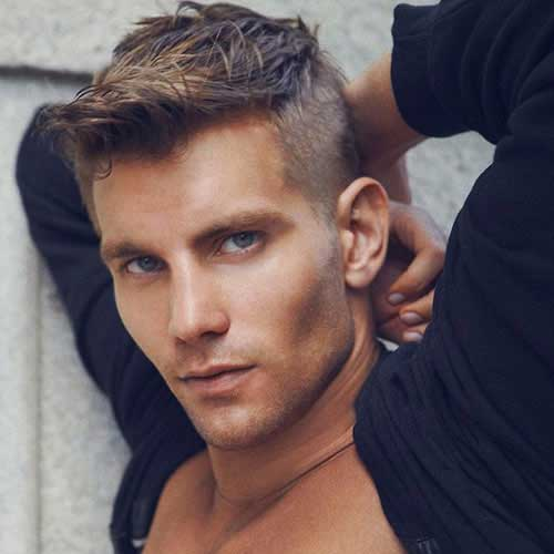 Hot New Hairstyles For Men in Deciding on the best men's hairstyle for you in is easier than you think. While your sense of style doesn't have to be the latest, boundary-pushing look to make a splash, these cuts offer the perfect example of trendy looks that have stood the test of time.