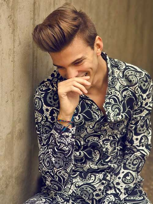 New Boys Thick Brown Hair Idea