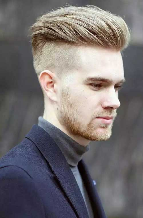 Pompadour Style Male Hair Cuts
