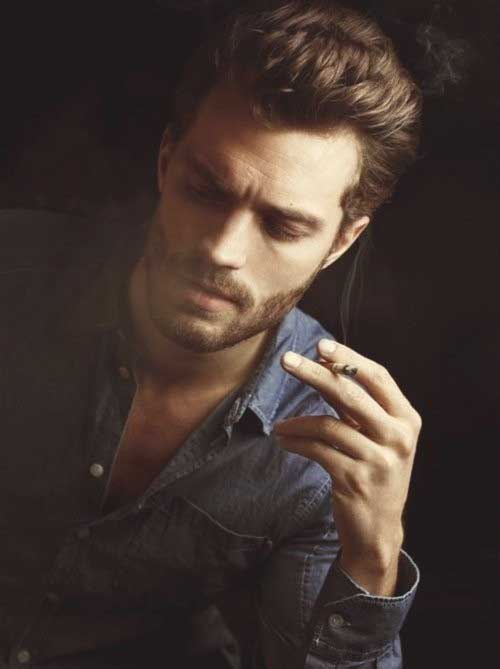 Sexy Mens Brown Hairstyles