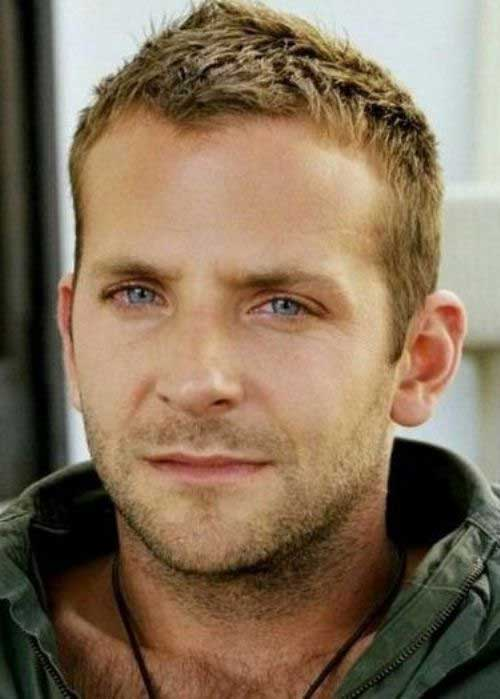 Short Blonde Hair Ideas for Face Shapes Men
