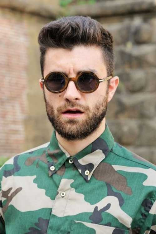 Trendy Short Haircuts for Men with Round Faces