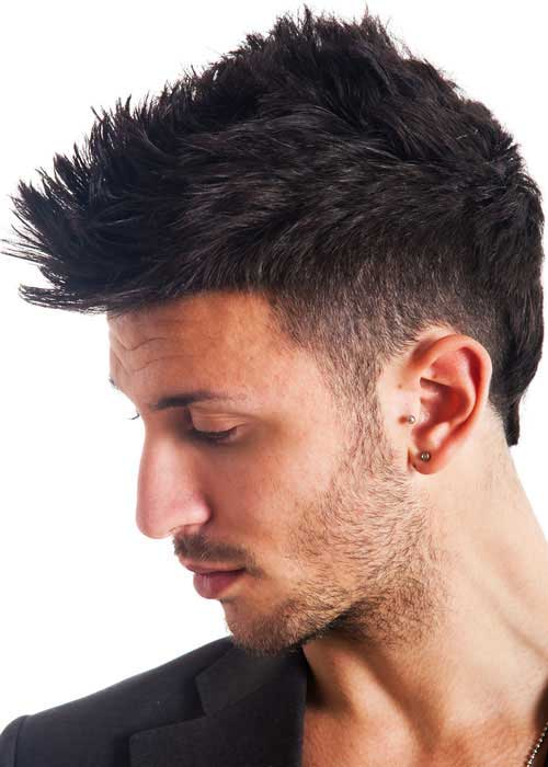 Best Mens Short Hairstyles for Thick Hair