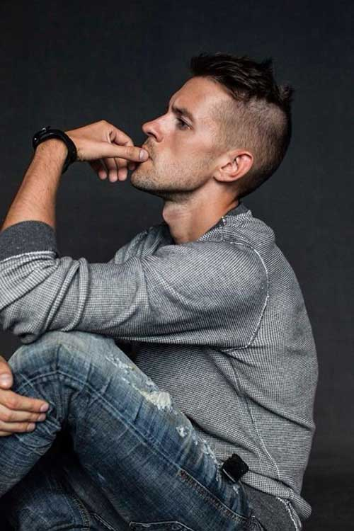 Short Side Hairstyles Cut Styles for Men