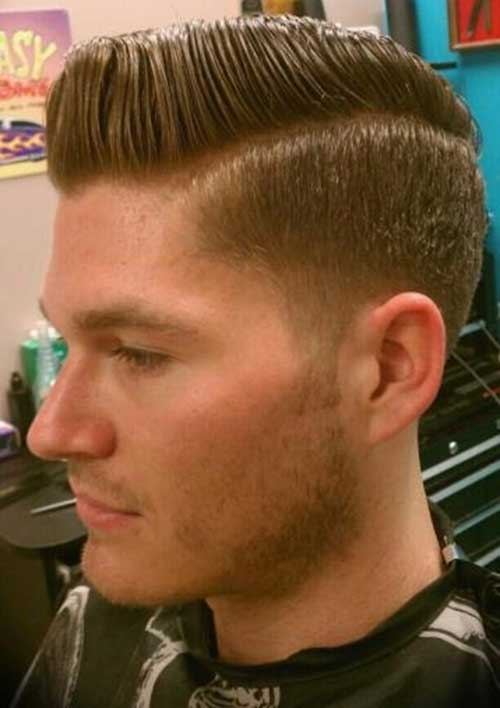 Side Swept Men Hair Cuts