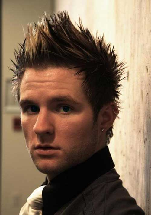 Spiky Faux Hair Cut for Guys