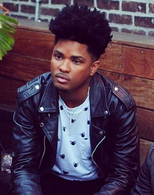Surprising Afro Taper Haircut Pictures Mens Hairstyles 2016 Hairstyles For Men Maxibearus