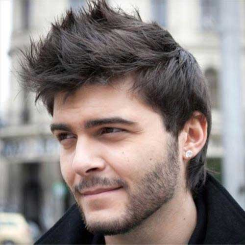 Thick Dark Hairstyles Men