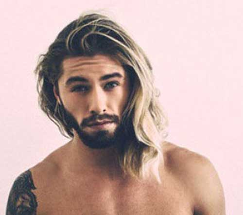 Thick Long Hair Idea Men