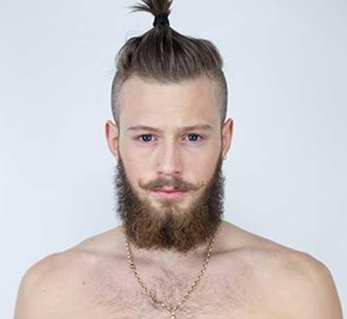 Stupendous Best Ponytail Hairstyles For Men Mens Hairstyles 2016 Short Hairstyles Gunalazisus