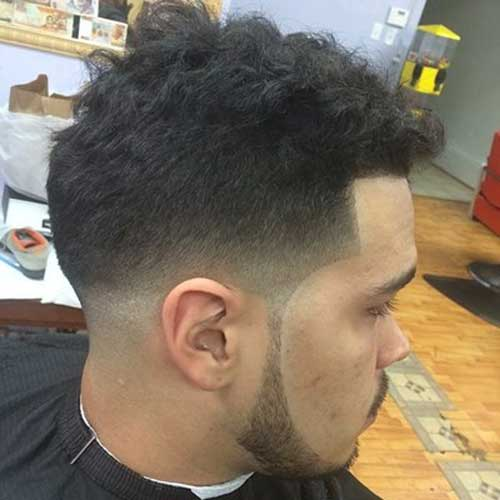 Trendy Black Men Taper Faded Haircut Ideas