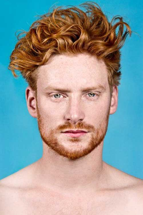 Trendy Male Ginger Hair Cuts