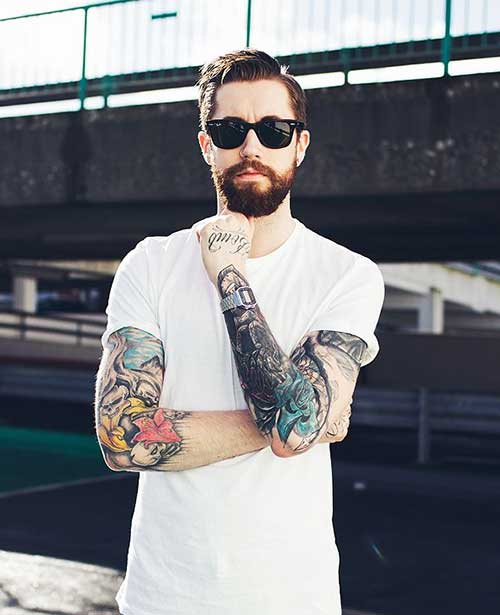 Trendy Mens Facial Hair Styles