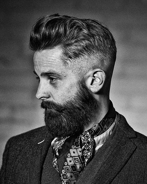 Best Trendy Mens Faded Hairstyle Ideas