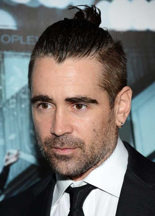 Undercut Bun Hairstyles for Men