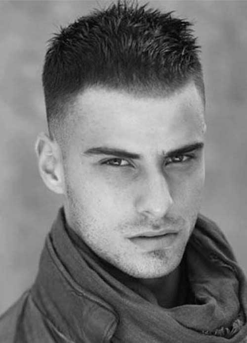 Undercut Men Dark Hairstyle