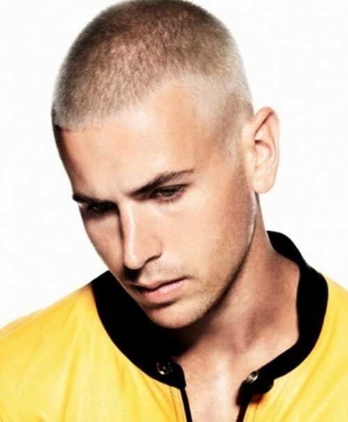 Very Short Blonde Haircuts for Men